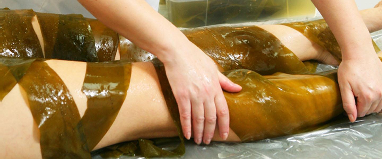 Обертывание тела на основе водорослей